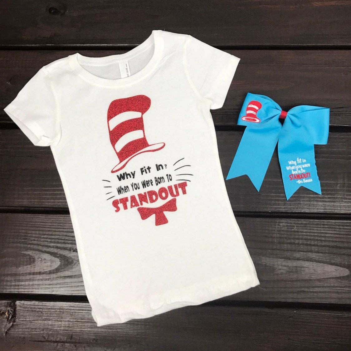 Dr Seuss Kids Shirts: Dr Seuss Shirt Cat In The Hat Shirt Dr Seuss Shirts Women