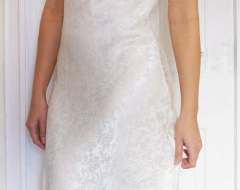 Peggi 1970s Vintage Bridal Dress