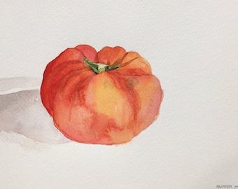 Heirloom Tomato Painting II