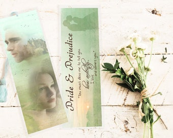 Pride and Prejudice Bookmark - Handmade