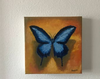 Butterfly Study (Oil Painting)