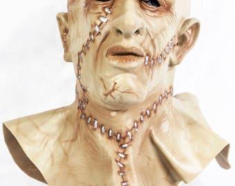 Frankenstein Monster 2 Guns Latex Mask