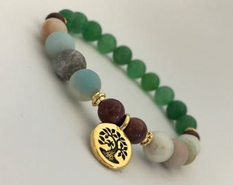 Justice wisdom courage fertility healthy skin hair bones heart acne goals protection viruses soothe troubled nerves stress relief amazonite