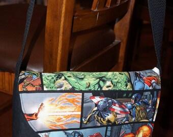 Marvel Heroes Messenger Bag