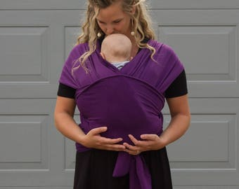 Sassy Stork Baby Wrap Carrier Cotton Blend