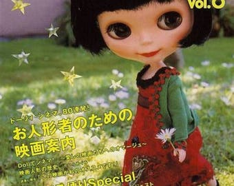 Dolly Sewing Cute Toy Japanese eBook Pattern Craft Instant Download PDF Tutorial Pictures Sewing Pattern Doll Blythe Nice Pattern Book