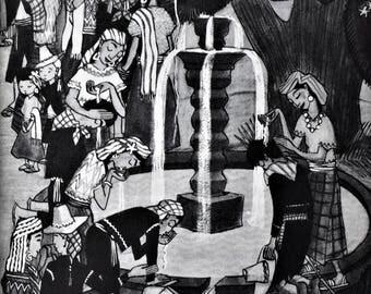 Vintage Children's Book Stories From The Americas Latin American Tales Frank Henius Leo Politi Illustrations 1944