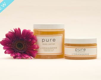 PURE L'Orangerie Body Polish | Sea Salt Body Scrub Collection