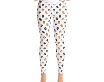 Cavalier King Charles Spaniel Women's Yoga Pants - Yoga Leggings - Yoga Pants - Cute Yoga Pants - Dog Gift - Cavalier King - Charles Spaniel