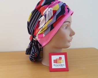 SCARF, CHEMO HAT