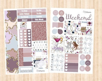 Celebrate personal planner sticker kit