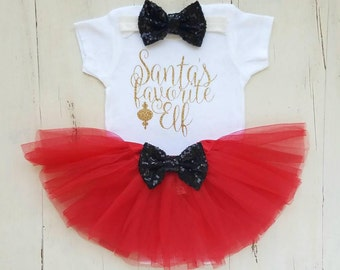 Christmas Outfit, Baby Girl 1st Christmas Outfit, Girl Christmas Onesie,Best Gift Ever, Baby girl clothes, Baby girl Chrsitmas Outfit,Onesie