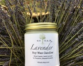 Lavender OLD LABEL Soy Wax Candle and Soy Wax Melts-phthalate free natural bridesmaid gift housewarming gift