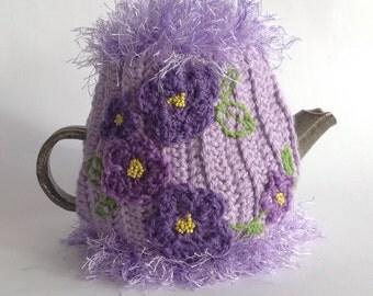 Mauve Fantasy Tea Cosy