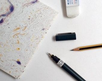 Square Marbled Sketchbook