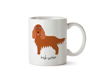 Irish Setter Mug (girl)