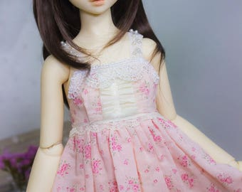 Sweet Floral Summer Dress | SD | BJD Clothing