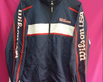 Vintage Wilson windbreaker jacket