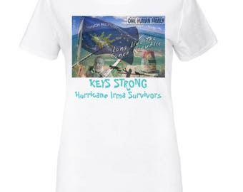 Keys Strong Conch Republic Womens TEE