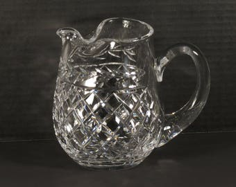 "Waterford Crystal 32 oz. ""Glandore"" Ice Lip Pitcher from Ireland"