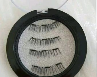 Full lashes magnetic eyelashes with 3 magnets on each