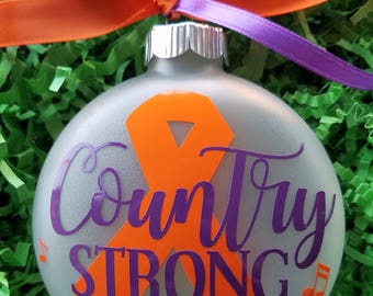 Country Strong - Route 91 Memorial Ornament