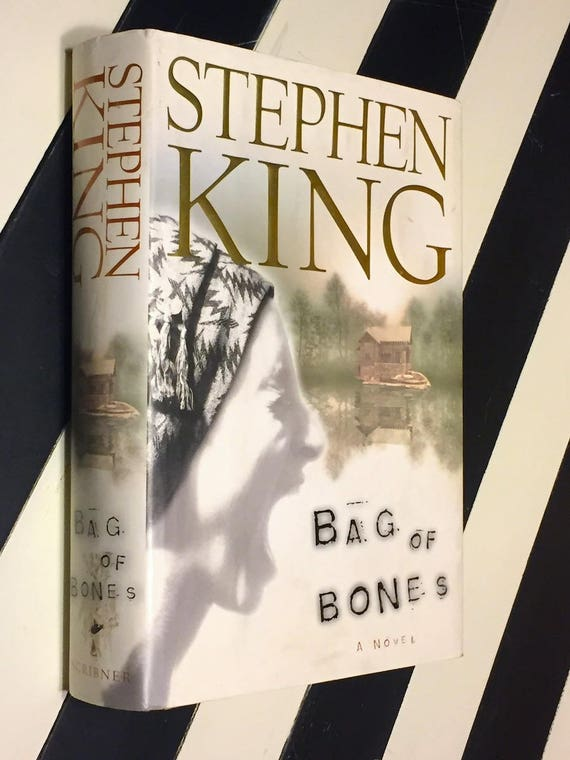 Bag of Bones by Stephen King (1998) first edition book