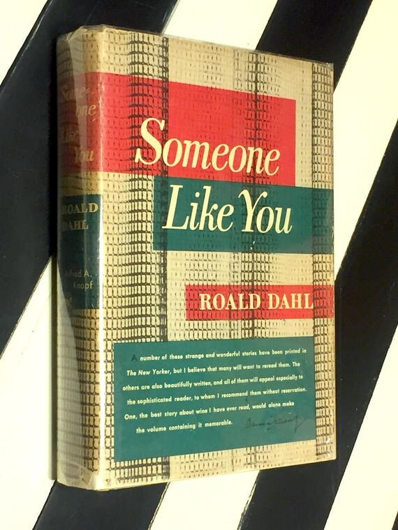 Someone Like You by Roald Dahl (1954) hardcover book