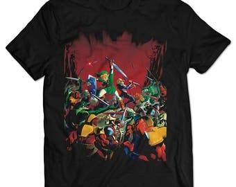 The Legend of Zelda: Ocarina of Time Link and Sheik T-shirt
