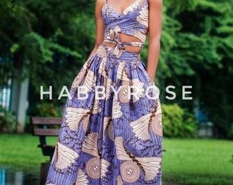 Rubi African top, Off shoulder top, african print top, floral print top, top, blouse, crop top, midriff top
