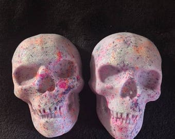 Confetti Skull Bath Bomb~~ Ed Hardy For Women