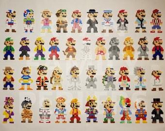 Super Mario Odyssey 8-bit Mario Perlers