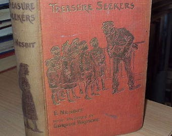 New Treasure Seekers by E Nesbit - 1912