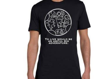 Dr who shirt, doctor who shirt, the doctor shirt, gallifreyan shirt, gallifreyan font, gallifreyan saying, time lord shirt, whovian shirt