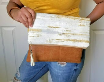 Mustard Yellow Clutch Bag, Clutch Purse, Faux Leather Clutch, Large Clutch, Leather Clutch, Wristlet Clutch, Gray Clutch Purse, Gift Idea