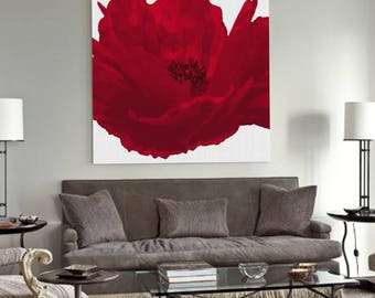Wall Art Poppies, Poppy Wall Print, Red Poppy Wall Art, Poppy Art Print, Flowers Print, Modern Wall Art, Printable Wall Art,Instant Download