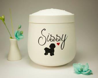 Dog Urn / Custom Dog Urn / Pet Urn / Pet Loss Gifts / Pet Memorial Box / Dog Lover / Cremation Urn / SWEET SHADOW / Dog Memorial / Small Urn