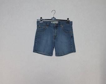 Levis High Waisted Denim Shorts Blue Jean Short Size 12