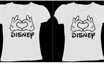 Disney Heart Shirt