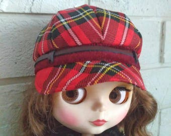 Blythe clothes Red hat for Blythe