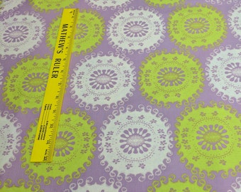 Limeade Ice-Tapestry Cotton Fabric from Free Spirit Fabrics
