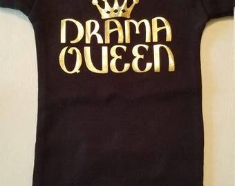 Drama Queen Baby Onesie