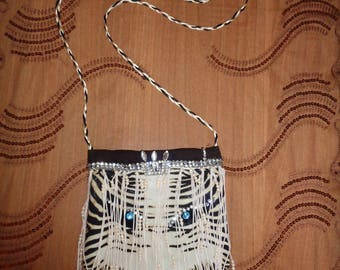 AISHA Shoulder bag with fringes