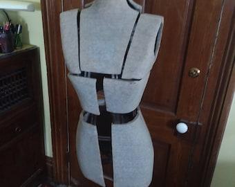 C. 1920 Adjustable Dress Form
