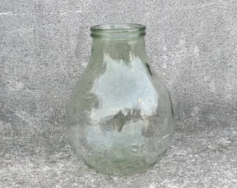Demijohn large wide collar