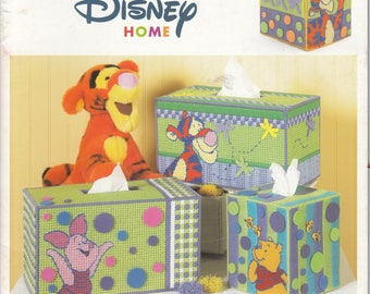 Pooh and Pals Tissue Box Covers