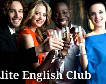 Elite English Club Monthly Membership