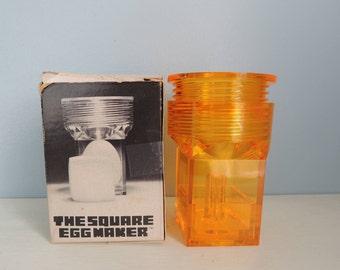 The Original Square Egg Maker, Retro Kitchen Gadget, Gag Gift, Unusual Kitchen Gadget,Fun Easter Egg, Kitchen Novelty, Square Egg Maker