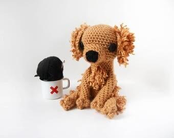 Crochet Golden Retriever – stuffed animal toy, handmade to order