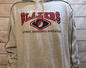 NBA Basketball Portland Trail Blazers Sweatshirt Hoodie by Lee Sport